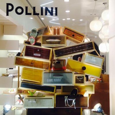 Negozio Pollini a Ferrara